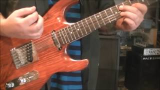 How to play The Payback by James Brown on guitar by Mike Gross