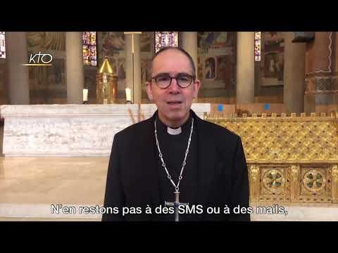Mgr Rougé : Appel à la fraternité et l'enracinement spirituel