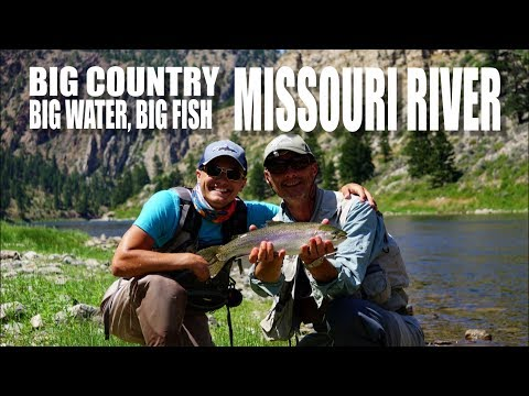 Big Country, Big Water, Big Fish - Fly Fishing the Missouri