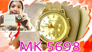 TIPS ON HOW TO CHECK IF YOU HAVE AN AUTHENTIC MICHAEL KORS WATCH / UNBOXING MK 5698 | Aiza Guns