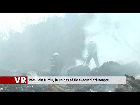 Romii din Mimiu, la un pas să fie evacuați azi-noapte