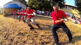 Bajdy - Turniej sołectw - Przeciąganie liny