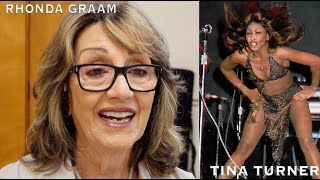 """TINA TURNER & RHONDA GRAAM ~ """"55 Years With The Queen Of Rock"""".  Tina´s assistent tells her story."""