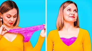 GENIUS CLOTHES HACKS THAT WILL SAVE YOUR DAY! || Useful Clothing DIYs By 123 GO! Genius