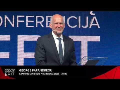 George Papandreou, Graikijos ministras pirmininkas (2009 – 2011)