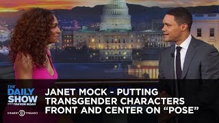 """Janet Mock   Putting Transgender Characters Front And Center On """"Pose"""" 