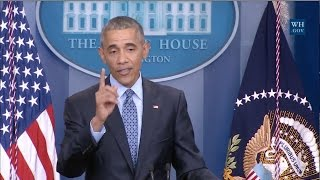 "Obama:""This Is Fake News"" - Voting Fraud Allegations"