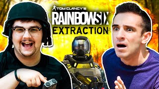 STUCK IN A VIDEO GAME! (Rainbow Six Extraction In Real Life)