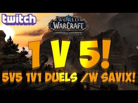 Sensus | WoW BFA Rogue PvP | 5v5 1v1 Duels vs  Savix/Xuen (World of  Warcraft BFA Dueling PvP) - Sensus YT