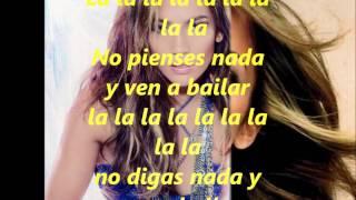 Jennifer Lopez ft Pitbull On the floor letra en español