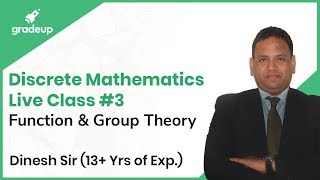 Discrete Mathematics for GATE Live Session #3 | Function