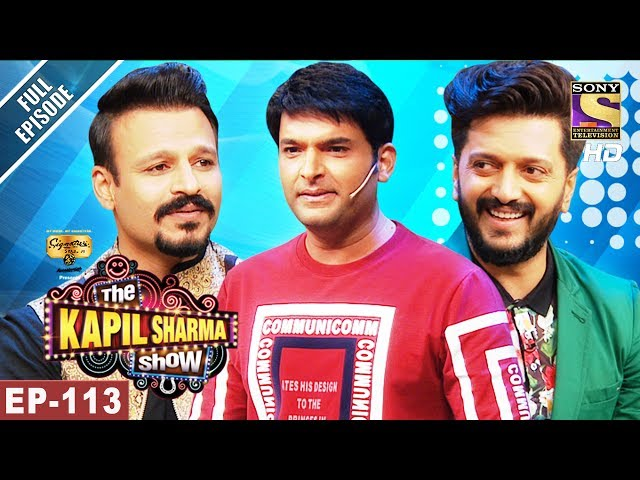 The Kapil Sharma Show – Episode 113 – June 11th 2017 | Vivek and Riteish