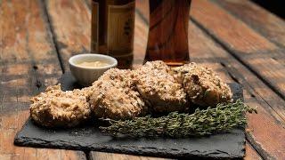 Oktoberfest Pretzel Mustard Chicken Recipe | Traeger Grills