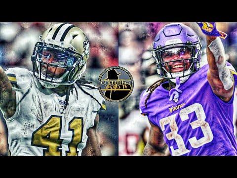 New Orleans Saints & Minnesota Vikings Give Running Backs Alvin Kamara & Dalvin Cook The 💰!!!