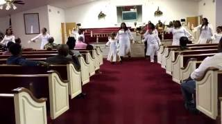 Reed chapel praise dance to The Anthem by Todd Dulaney
