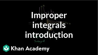 Introduction to improper integrals