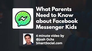 Facebook Messenger Kids App Guide For Parents