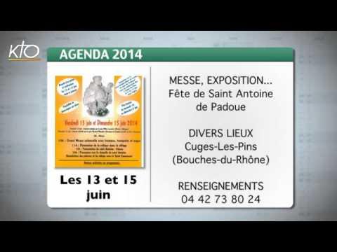 Agenda du 6 juin 2014