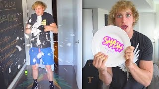 EVERY SINGLE TIME LOGAN PAUL HAS BROKEN A PLATE!