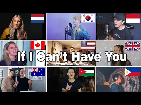 Who Sang It Better : Shawn Mendes - If I Can't Have You(us,uk,canada,netherland,indo )