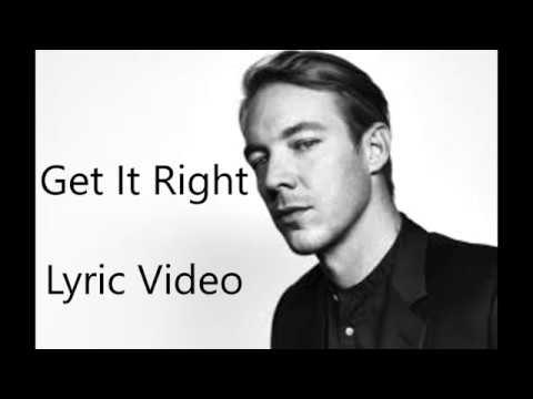 Diplo - Get It Right (Feat. MØ) Lyrics Video