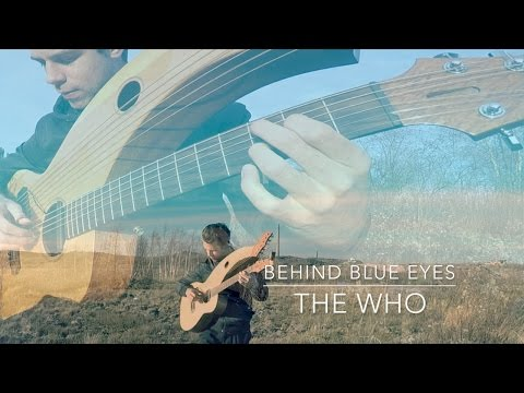 , title : 'Behind Blue Eyes - The Who - Harp Guitar Cover - Jamie Dupuis'