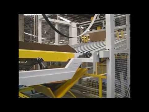 Vea el video de WSA Transportadores, Pre-alimentadores, Formadores de Carga, Insertadores de pallet, insertadores de hoja de merma ¡y más!
