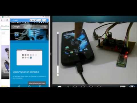Interfacing Bluetooth with PIC Microcontroller