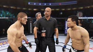 Khabib vs. Korean Zombie (Chan Sung Jung) - EA Sports UFC 2