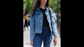 How To Pair Denim Jackets With Jeans