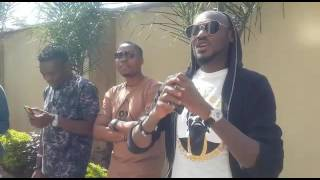 Live Clips: B-T-S Oya Come Make We Go mp3 shoot in Kenya