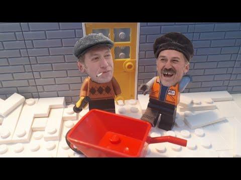 Котлетки с пюрешкой! Лего пародия.