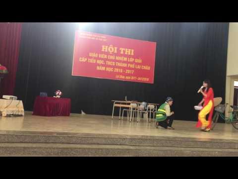 """Tiểu phẩm của trường TH Số 2 Thành phố Lai Châu """"Gọi Nắng về trường"""""""