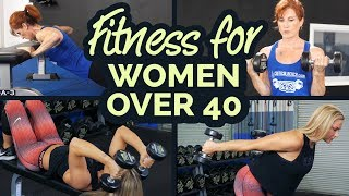 Fitness For Women Over 40 (The BEST Training & Exercise Advice)