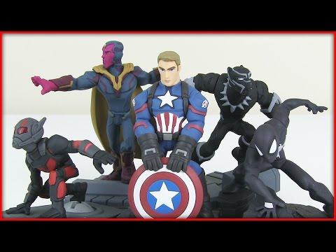 New Marvel Battleground Disney Infinity 3.0 Unboxing! Ant-Man! Black Panther & More!