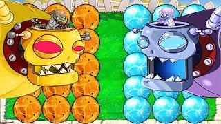 Plants vs Zombies Hack - Plant ICE vs Fire vs Dr. Zomboss