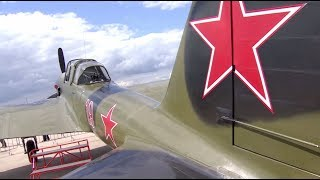 ИЛ-2 времен Великой Отечественной войны совершил полёт на МАКС-2017