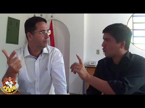 Prefeito Arizinho e Seu Vice Ivan fala sobre as Sucatas depositadas no Canteiro de obra do  Centro de Convenções