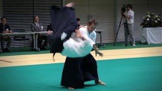 Christian Tissier – Aikido Demonstration – 12th IAF Congress (2016)