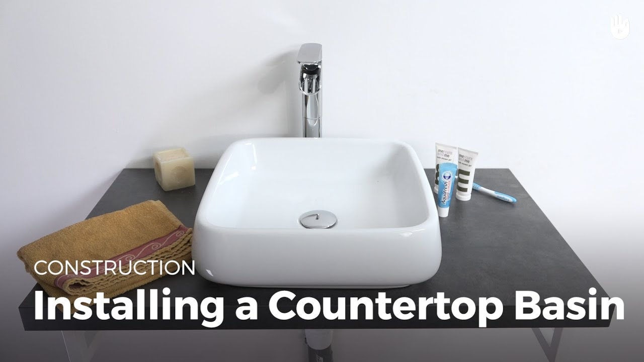 Learn Installing A Countertop Sink Household Diy
