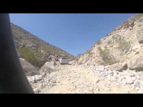 Trail run in honda ridgeline and Tacoma is video vehicle