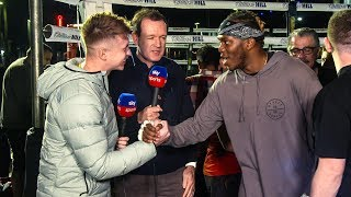 CONFRONTING KSI v LOGAN PAUL FANS IN PUBLIC