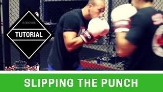 Boxing Basics: Slipping the punch (Drill) - How to Slip the Punch in Boxing & MMA