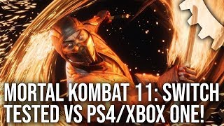 [4K] Mortal Kombat 11: Switch vs PS4/Pro/Xbox One/X - From Handheld To 4K!