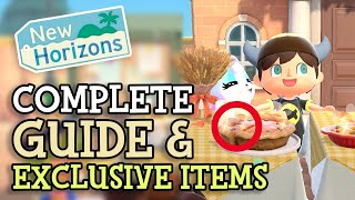 Animal Crossing New Horizons: FULL TURKEY DAY GUIDE with TIPS & TRICKS to unlock ALL EVENT ITEMS