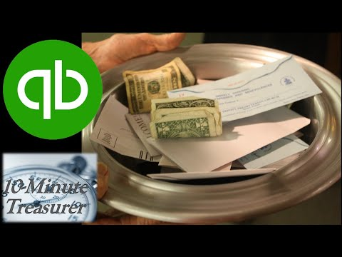 How do you track donations in QuickBooks?
