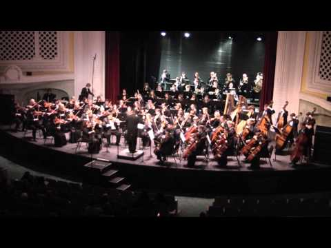 Playing Death and Transfigurations (Strauss) in the Tacoma Youth Symphony