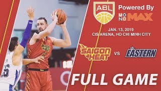 Saigon Heat v Hong Kong Eastern | FULL GAME | 2018 - 2019 ASEAN Basketball League