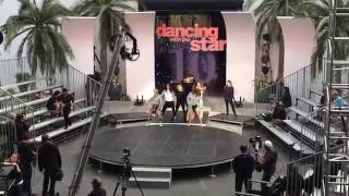 DWTS! ALL NEW PRO DANCERS REHEARSAL LIVE...MANDY MOORE CHOREOGRAPHER