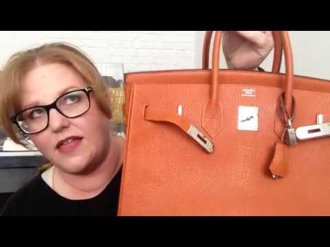 Hermes Birkin 35 review AKA 'Margaret Thatcher'
